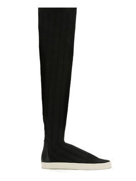 Gloria Coelho knit boot - Black