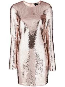 Tom Ford sequinned party dress - Neutrals