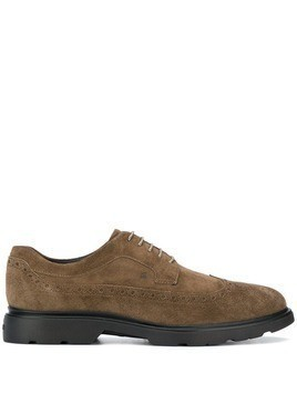 Hogan lace up oxford shoes - Neutrals
