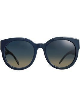 Burberry Round Frame Sunglasses - Blue