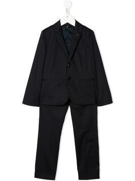 Emporio Armani Kids two-piece suit - Blue