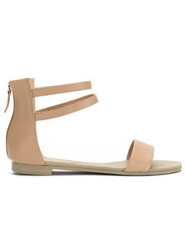 Studio Chofakian strappy flat sandals - Neutrals