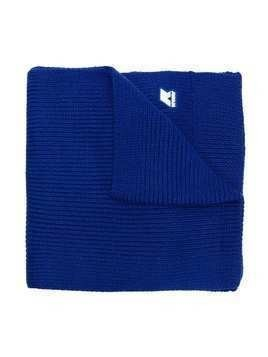 K Way Kids logo patch detailed scarf - Blue