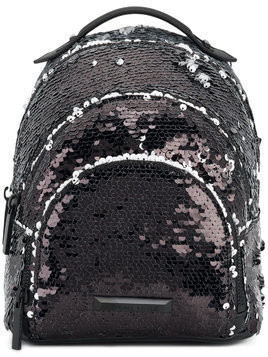 Kendall+Kylie sequin embellished backpack - Black