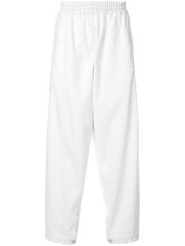Hed Mayner elasticated waist trousers - White