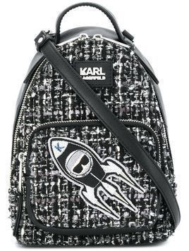 Karl Lagerfeld K/Space mini backpack - Black