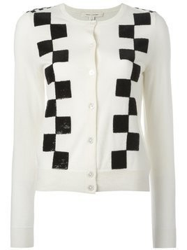 Marc Jacobs classic checkered cardigan - Neutrals