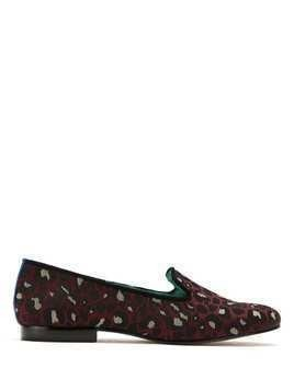 Blue Bird Shoes Onça Colors loafers - Red