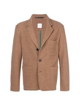 Paul Smith knitted blazer - Brown