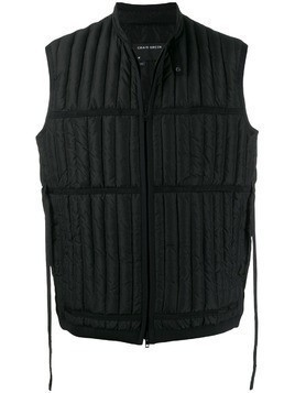 Craig Green Quilted down gilet - Black