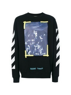 Off-White Caravaggio sweatshirt - Black