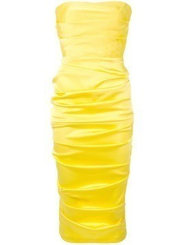 Alex Perry Ace dress - Yellow