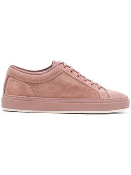 Etq. low top lace-up sneakers - Pink