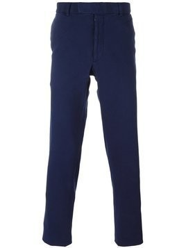 Fashion Clinic Timeless slim fit chinos - Blue