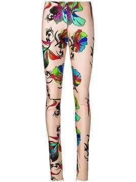Barbara Bologna printed leggings - Neutrals