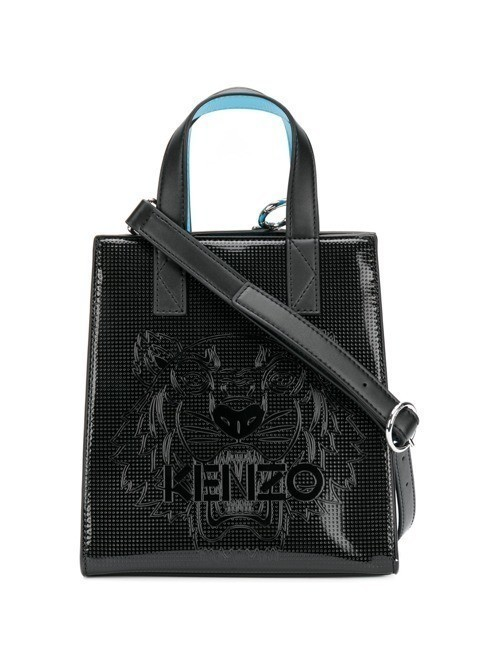 Kenzo patent shopping bag - Black