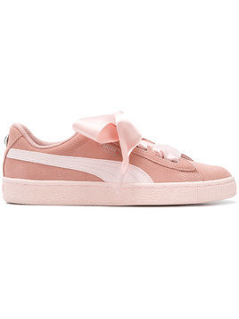 Puma ribbon lace-up sneakers - Pink & Purple
