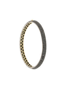 Gemco diamond bangle - Black