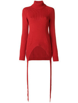Givenchy fitted knitted sweater - Red
