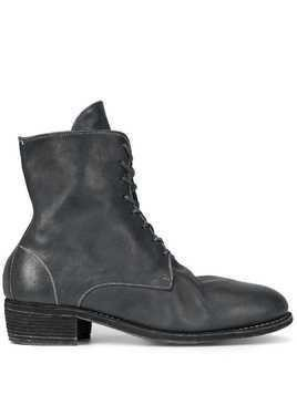 Guidi lace-up ankle boots - Blue