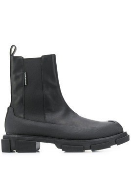 Both chunky sole ankle boots - Black