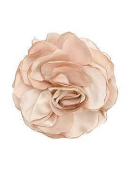 Caffe' D'orzo rose brooch - Nude & Neutrals