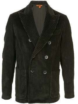 Barena double-breasted corduroy blazer - Grey