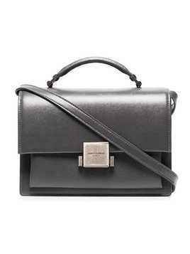 Saint Laurent Grey Bellechasse Leather Shoulder Bag