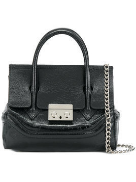 Marc Ellis - chain strap shoulder bag - Damen - Leather - One Size - Black