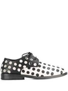 Marsèll dotted oxford shoes - Black