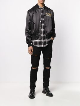 Amiri ripped slim-fit jeans - Black