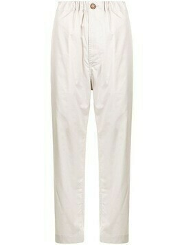 Sofie D'hoore high-waisted wide-legged trousers - Neutrals