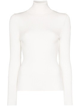 Fusalp Ancelle ribbed knit jumper - White