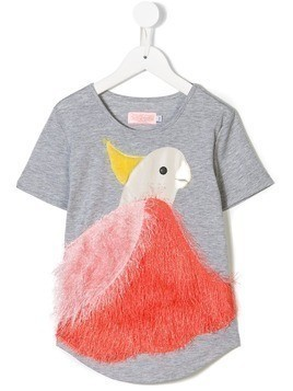 Bang Bang Copenhagen Poppy Pink T-shirt - Grey