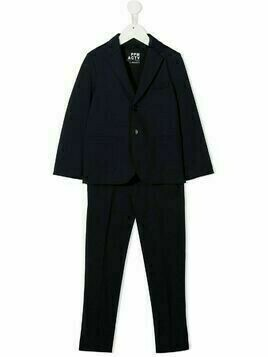 Paolo Pecora Kids two-piece tailored suit - Blue