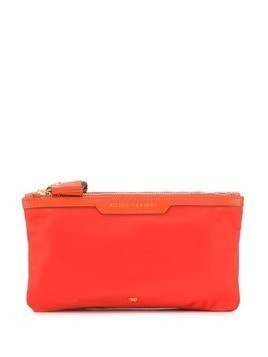 Anya Hindmarch Filing Cabinet zipped purse - Orange