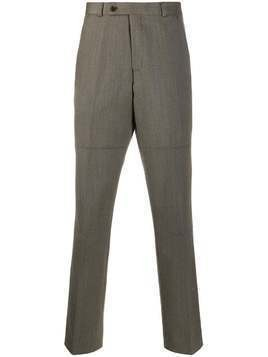 Martine Rose high waist long trousers - Brown