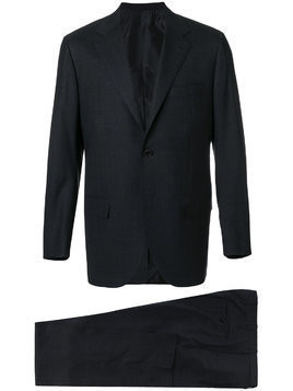 Kiton straight-fit suit - Grey