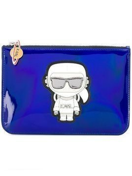 Karl Lagerfeld K/Space pouch - Blue