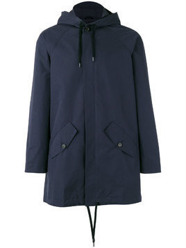 A Kind Of Guise drawstring hooded jacket - Blue