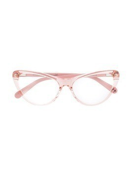 Stella McCartney Kids cat-eye shaped glasses - PINK