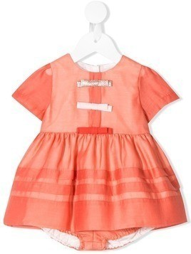 Hucklebones London bodice dress & bloomers - Orange