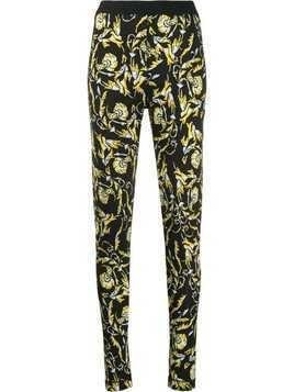 Escada Sport all-over print leggings - Black