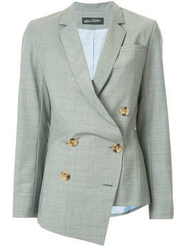 Anna October - asymmetric blazer jacket - Damen - Wool/Viscose - S - Grey