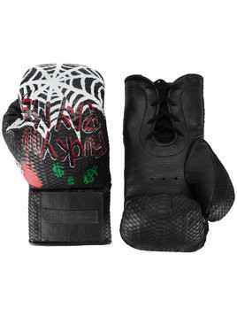 Elisabeth Weinstock Manila painted boxing gloves - Black
