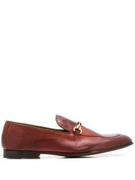 Doucal's classic loafers - Brown