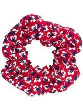 Andamane printed scrunchie - Red