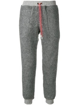 Julien David drawstring track pants - Grey