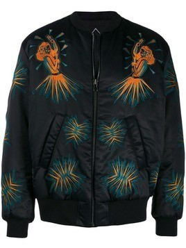 Mauna Kea embroidered bomber jacket - Black