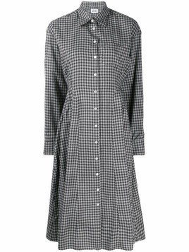 Each X Other Re-sculpted shirt dress - Grey